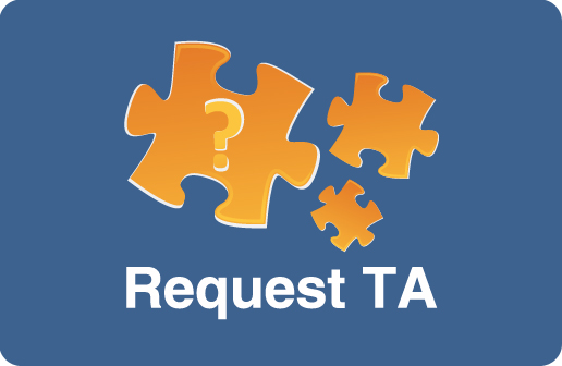 Request TA button