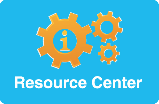Resource-center button